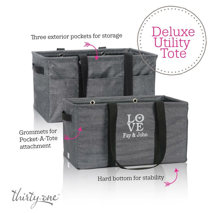 Thirty One Gifts - Deluxe Utility Tote