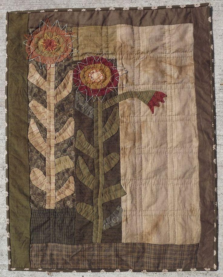 Dahlia Wallhanging / Pattern by Jan Patek