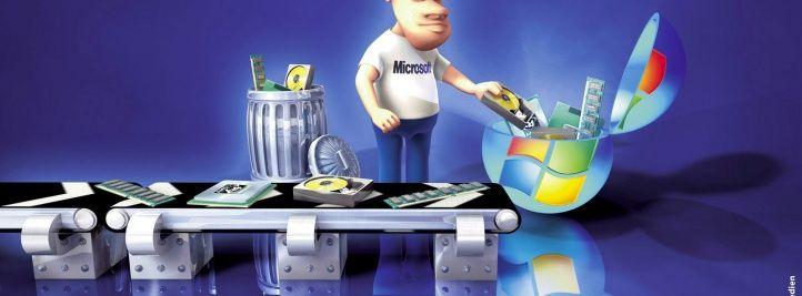 Microsoft Windows 7 la technologie d'assemblage