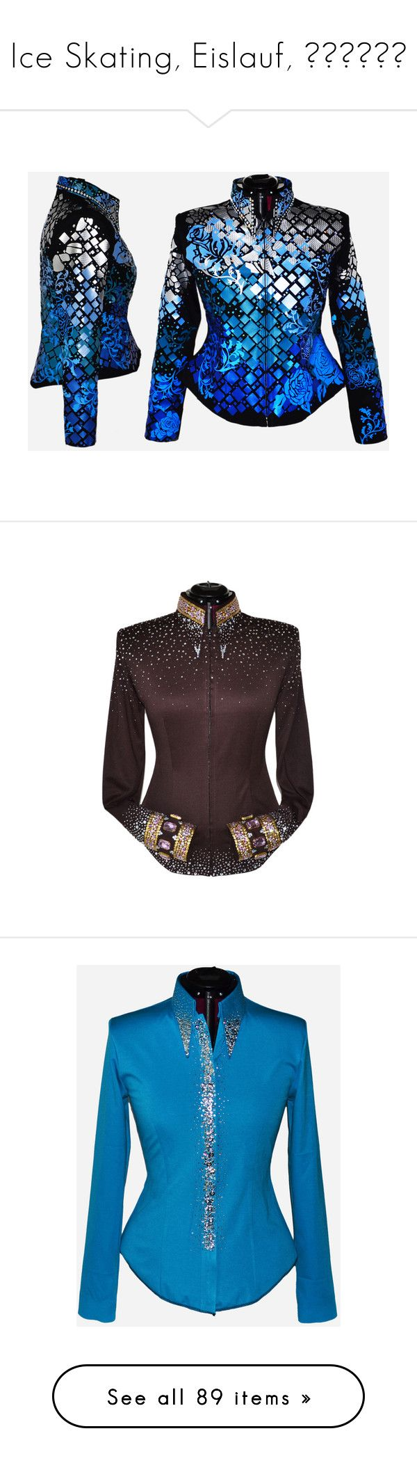 """""""Ice Skating, Eislauf, Коньки"""" by kristinaeduardovna ❤ liked on Polyvore featuring western show clothes, outerwear, jackets, sparkly jacket, collar jacket, pink jacket, embellished jacket, tops, shirts & tops and cowboy shirts"""