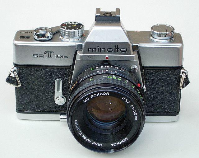 Minolta SLR 35mm Camera Love the lens
