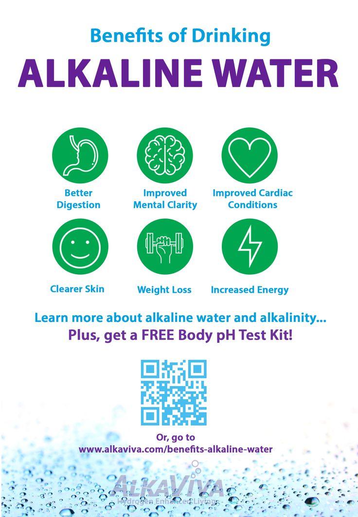 Benefits of drinking alkaline water alkalinewater water