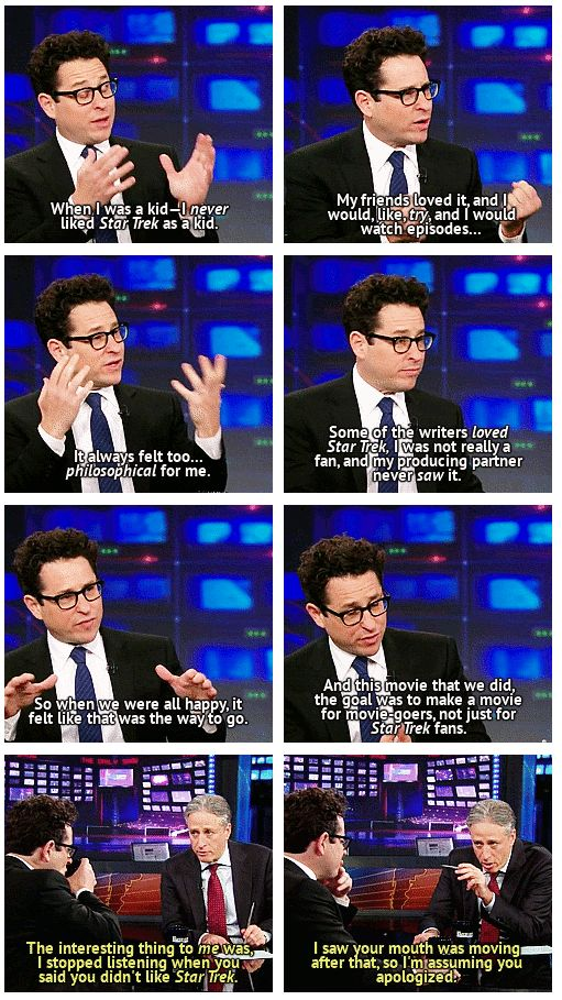 I remember when this episode of The Daily Show aired. First thing I did was quote Jon's genius and logical response on Facebook.