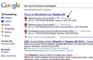 "Help Google find LDS Chapels. Find your local LDS chapel on Google by searching for ""lds church"" along with your city and state. Click the Place page link next to the listing for your chapel to go to the Google Maps page for that location. Click Rate and review to write a review for your meetinghouse."