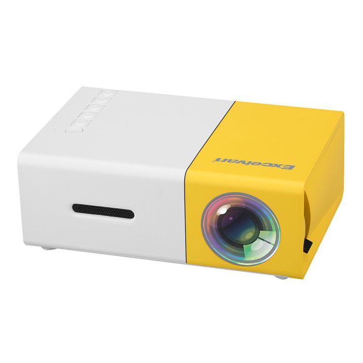 HD Mini Portal Projector supports 1080p