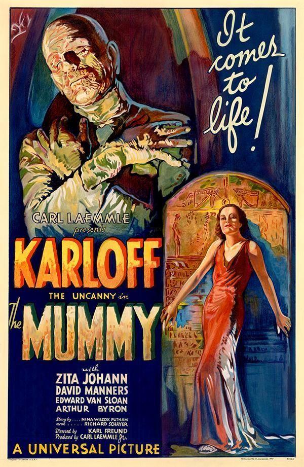 La momia (1933) es una película de cine dirigida por: Karl Freund. Interpretada por: Boris Karloff, Zita Johann, David Manners, Edward Van Sloan, Arthur Byron, Noble Johnson, Leonard Mudie…