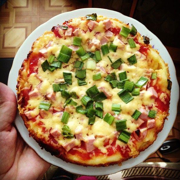 пицца собственного приготовления