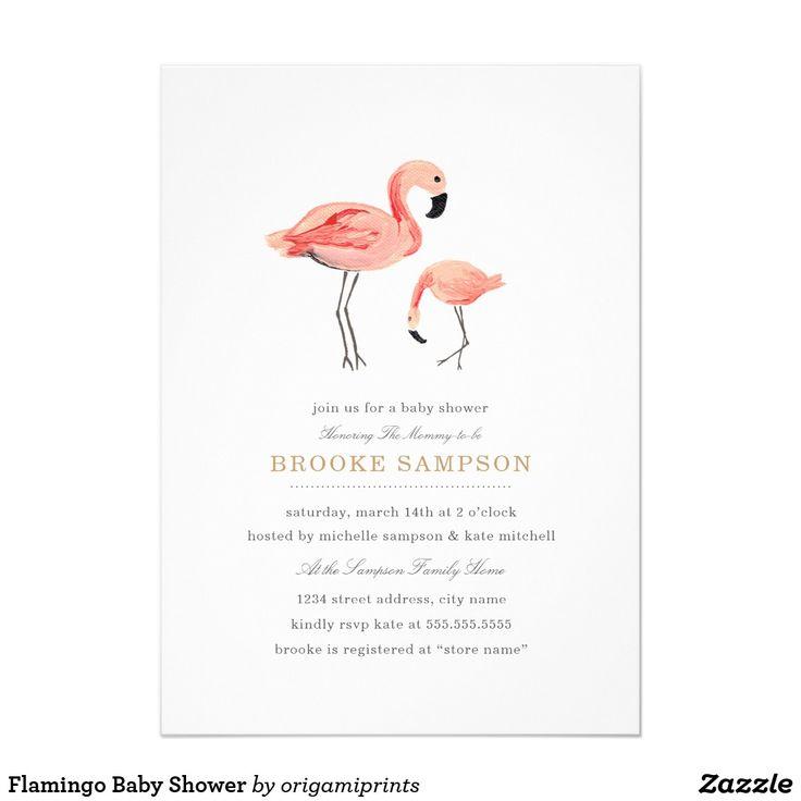 baby shower invitations flamingo baby shower flamingos baby showers