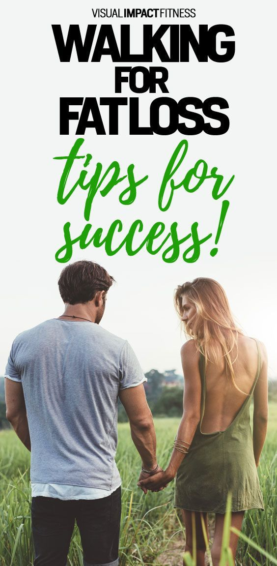 Walking for fat loss, tips for success.