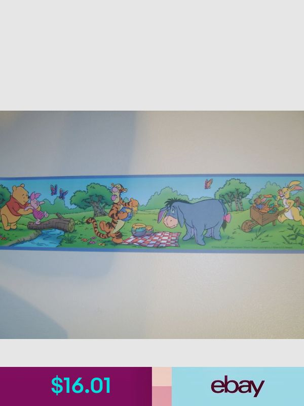 Disney Wallpaper Borders ebay Home, Furniture & DIY