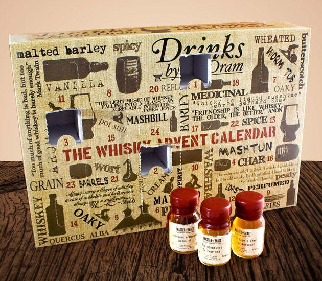 Whisky Lover Gift Guide: Whisky Advent Calendar