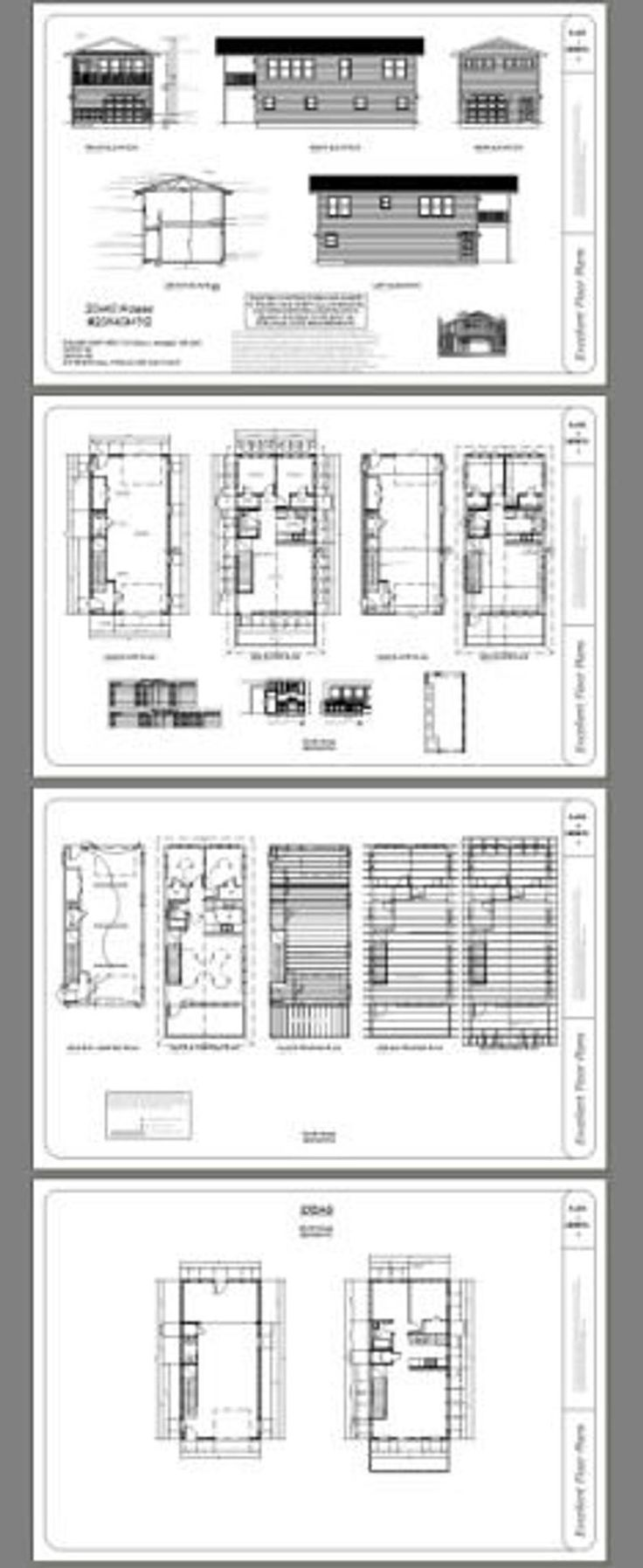 20x40 House 2Bedroom 1.5Bath 859 sq ft PDF