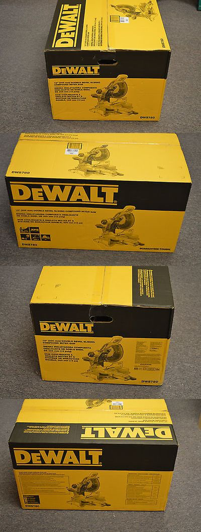 Miter and Chop Saws 20787: Dewalt Dws780 12 Double Bevel Sliding Compound Miter Saw *New* Pickup Nj -> BUY IT NOW ONLY: $499.99 on eBay!