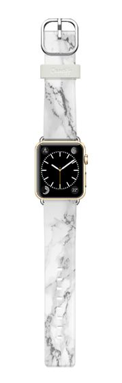 Casetify Apple Watch Band (38mm) Casetify Band - White marble by WAMDESIGN #Casetify