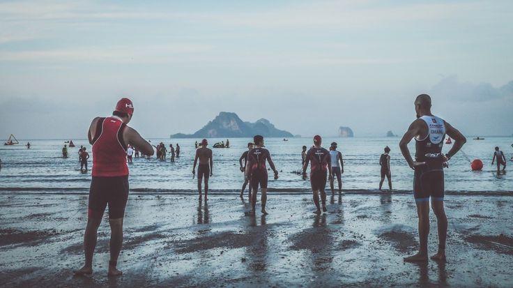 The #calm before the storm at the #krabiinternationaltriathlon2017. Snapped by @tawiwankn & @windmonkeypro   Visit www.trinirvana.space & #levelup for your next race & peak to perfection!     #swimbikerun #triathlete #run #running #ironman #bike #swim #cycling #training #trilife #fitness #tri #ironmantraining #swimming #ironmantri #triathlontraining #triatlon #garmin #motivation #runner #marathon #thetrihood #top_triathletes #fitfam #sport #ciclismo #tritraining