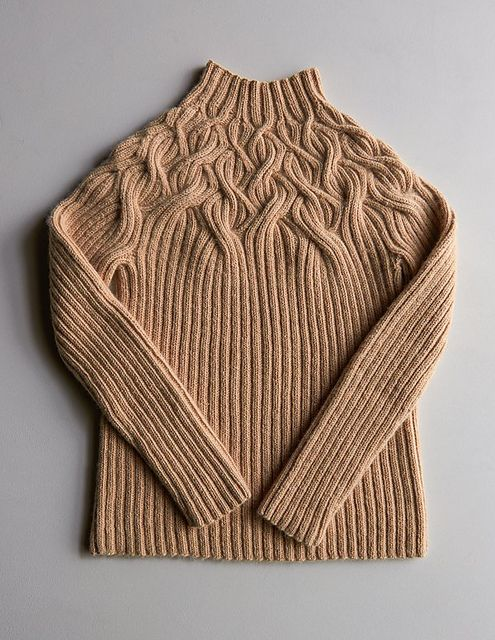 Ravelry: Botanical Yoke Pullover pattern by Purl Soho