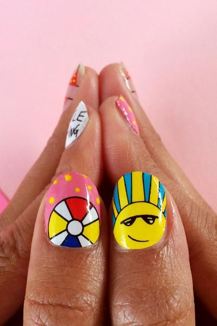 Summer nail art we can actually get excited about!