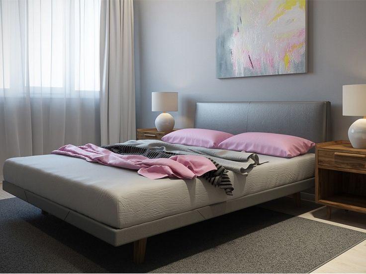 Двуспальная кровать Фора 160х200 – эффектная модель, которая удачно дополнит интерьер спальни в ретро стиле или в скандинавском.