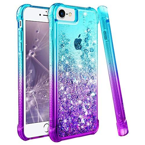 wlooo Coque pour iPhone 6/6s/7/8 iPhone 7 Coque iPhone 8 Silicone ...