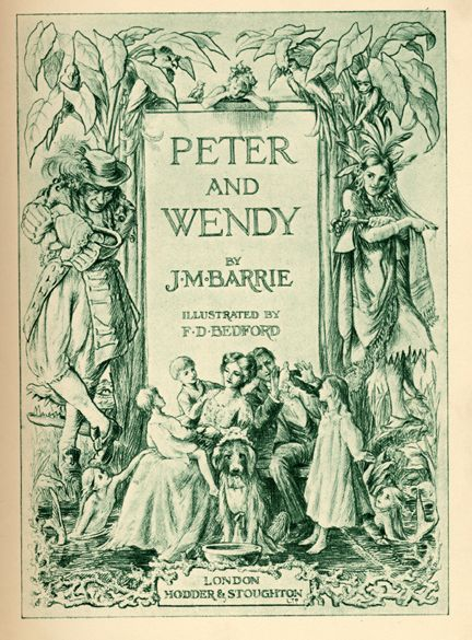 Peter Pan; or, the Boy Who Wouldn't Grow Up (1904 play by J. M. Barrie; novelized in 1911 as Peter and Wendy)