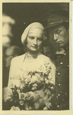 Queen Astrid with King Leopold III