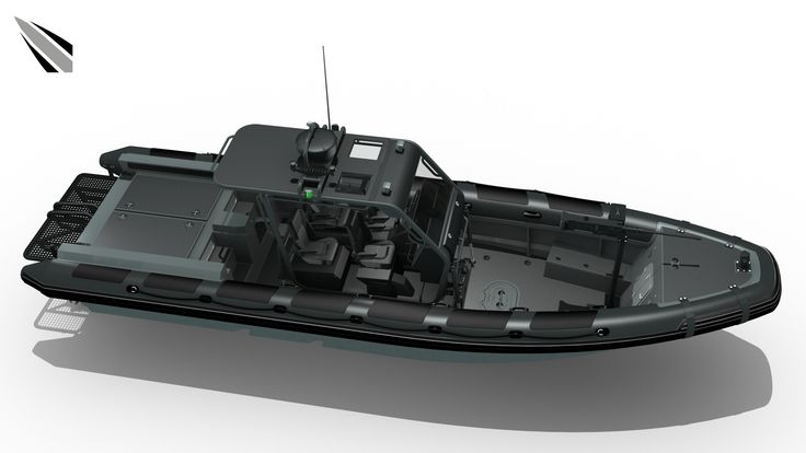 MR-1010 INTERCEPTOR | Stepped Hull with Surface Drive
