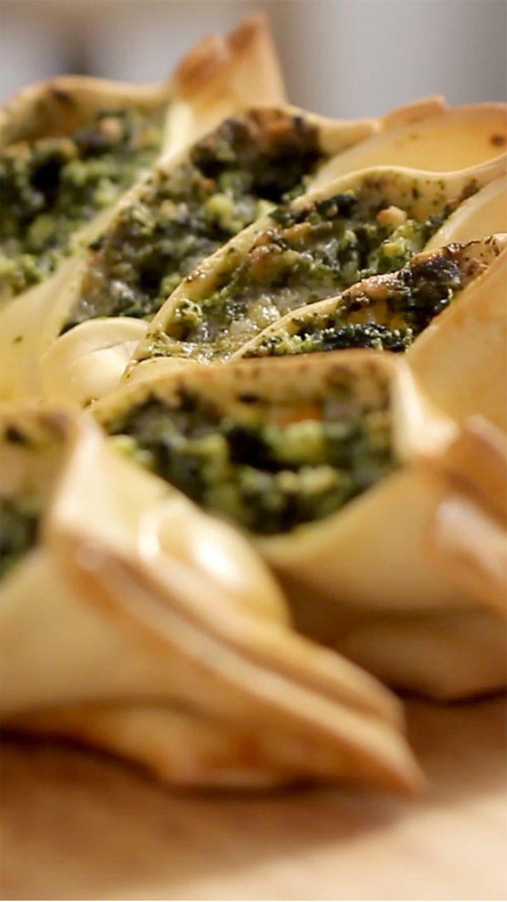 Spinach Starry Pie recipe
