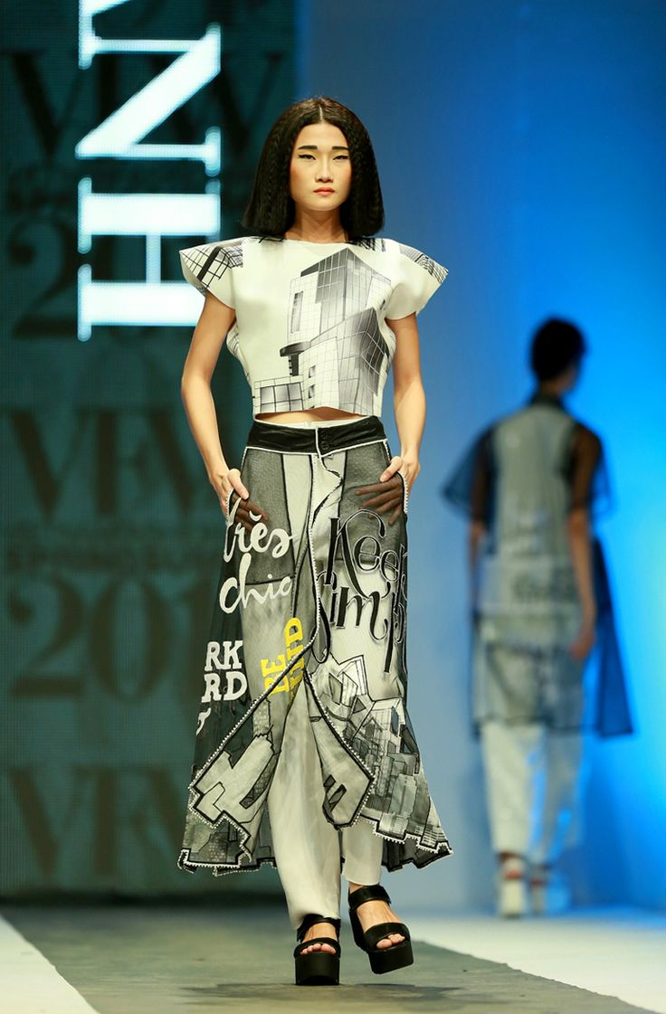 Vietnam Fashion Week SS15 - Ready to wear. Designer: Minh Hanh. Photo: Nguyen Thanh Dat