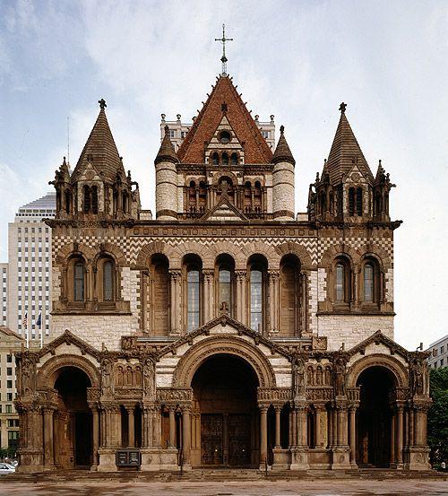 Architecture: Trinity Church; New York, NY – Richard Upjohn; Gothic Revival