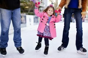 Outdoor Ice Skating in the Desert? You Betcha!: CitySkate: Skating Rink at CityScape Phoenix