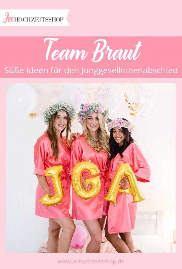 Must Haves für Deinen JGA #teambraut #jga #teambride #wedding #hochzeit