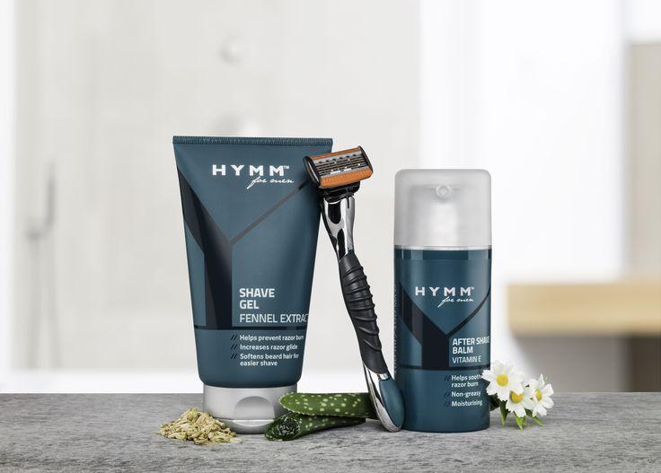 Gel de rasage et après rasage de la gamme #HYMM by #Amway !