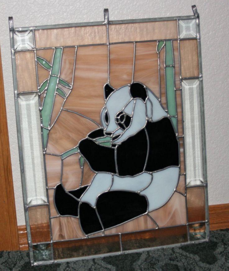 Black And White Glass Animals
