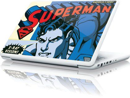 Superman - Superman - America?COs Hero - Apple MacBook 13-inch - Skinit Skin @ niftywarehouse.com