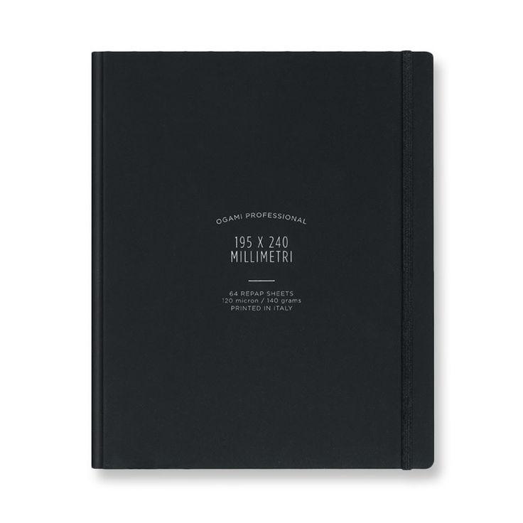 Notebook NB PRO HC BLACK REGULAR-PLAIN