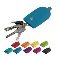 A smart key case that completely covers  and stores keys when they are not in use.  The handy and highly stylish KAGICCO  is an item that even men will find useful.