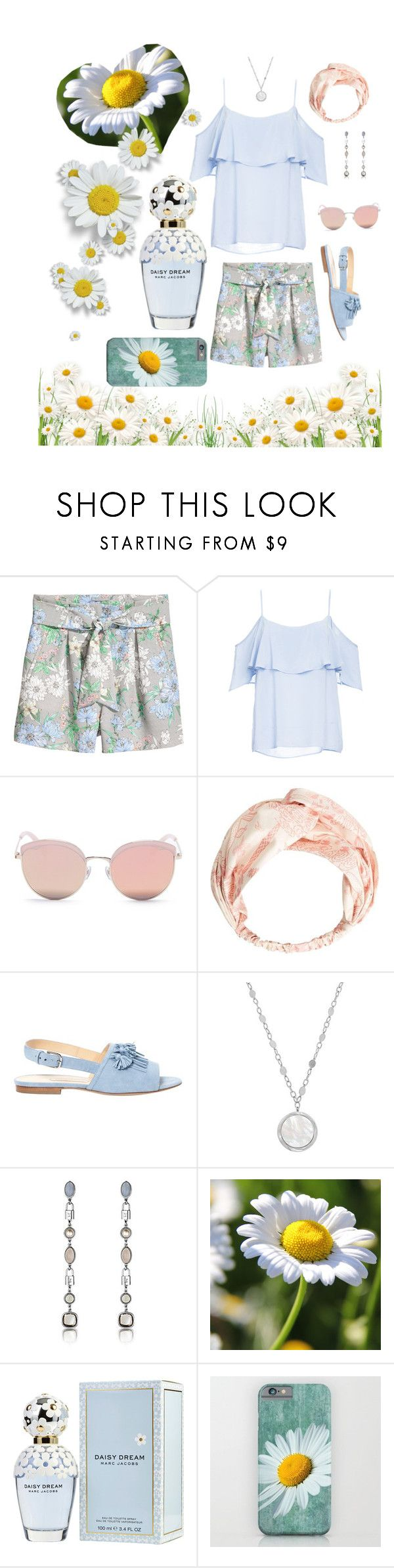 """Daisy Dream"" by mb-magic-styles ❤ liked on Polyvore featuring BB Dakota, Stephane + Christian, MANGO, Bionda Castana, Honora and Marc Jacobs"