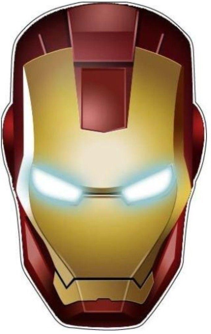 Iron Man Helmet Sticker Hardhat Sticker Laptop Sticker Lunch Box Sticker Toolbox Iron Man Helmet Iron Man Art Iron Man