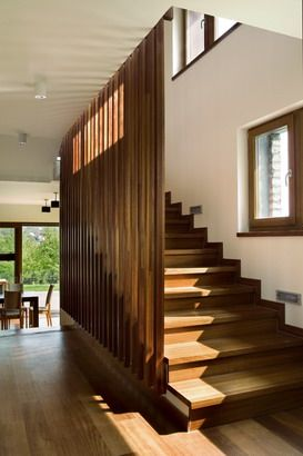 House round the walnut tree by Földes Architects #stairs