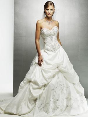 vestidos de noivas tomara que caia estilo princesa