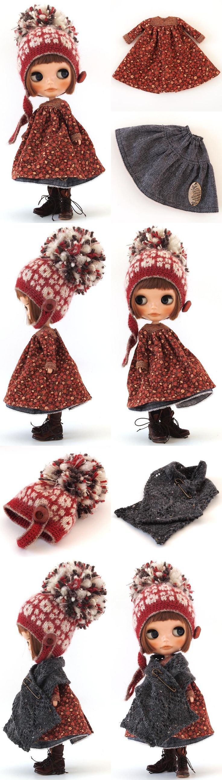 ** Blythe outfit ** Lucalily 368**の画像:mahounote. もっと見る