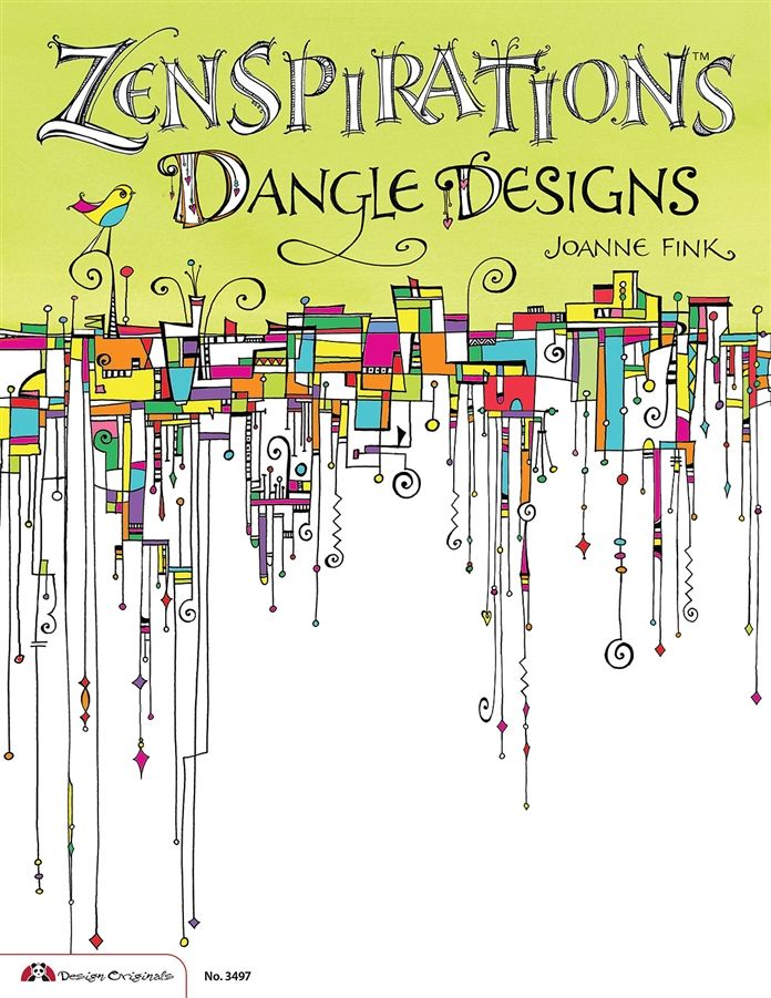 This is the cover of my new book, Zenspirations Dangle Designs, which just started shipping! Can't wait to see all the dangles that people start doing. Happy Dangling & Stay Zenspired, Joanne
