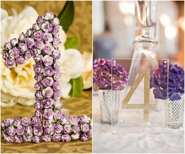 Table Numbers For Wedding Ideas via etsy Wedding Ideas Imaginative Table Numbers For A Creative Wedding To See More