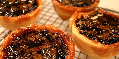 Maple Butter Tarts with Currants