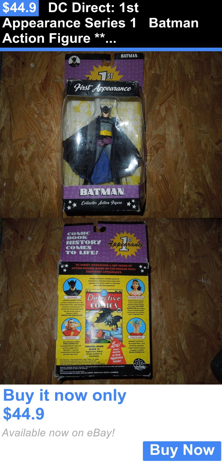 Toys And Games: Dc Direct: 1St Appearance Series 1 Batman Action Figure *****Brand New***** BUY IT NOW ONLY: $44.9