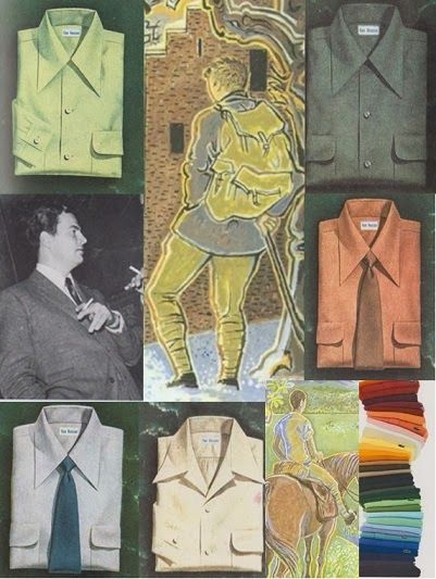 Clothes In Books: Patrick Leigh Fermor, his long walk, and a guest blogger