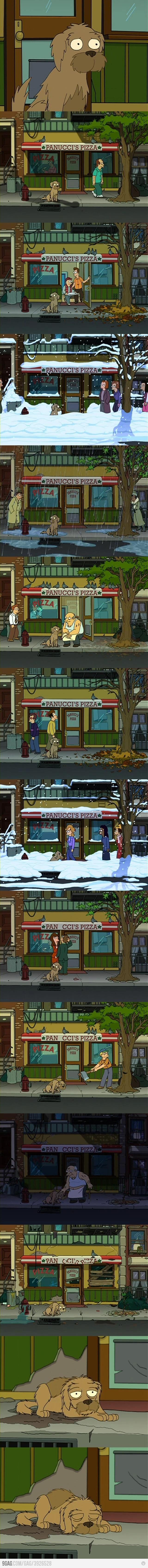 El perrito de Fry.