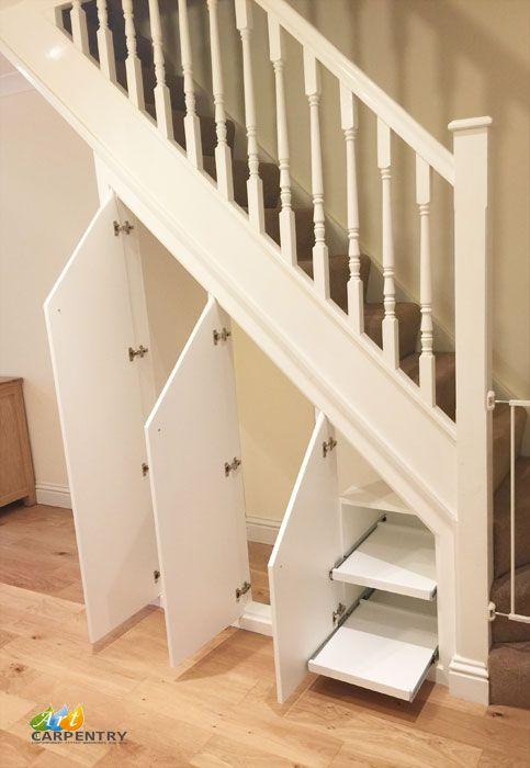 Fitted under stairs cupboard storage
