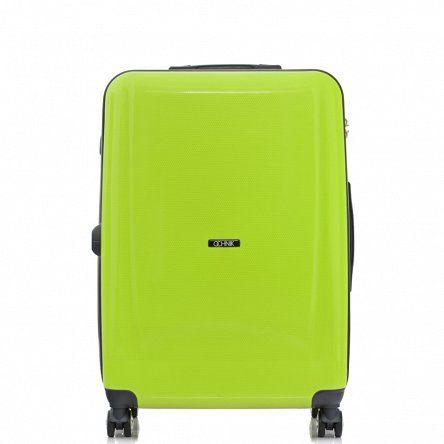 WALIZKA NA KÓŁKACH WALPP-0012-22  Nowoczesna, lekka walizka 22