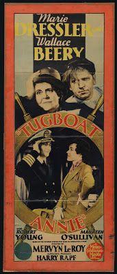 Rare film & TV classics on DVD!: Marie Dressler ~ Dangerous Females (1929) & Tugboat Annie (1933)